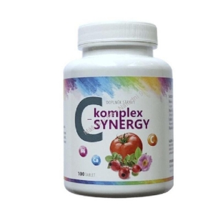 Vitamin C-komplex SYNERGY 100 tablet