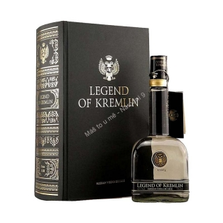 Legend of Kremlin vodka kniha
